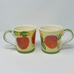 Culinary Arts Studio Collection APPLE Pattern Pair